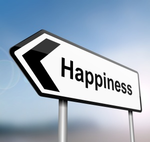 The road to happiness.